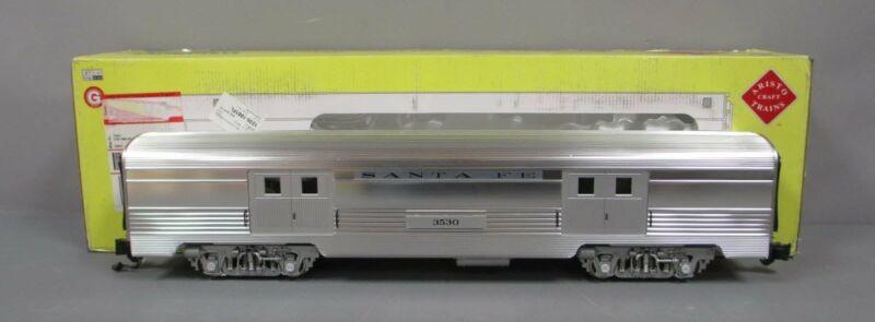 Aristo-Craft 32205 Santa Fe Streamlined Baggage Car - Metal Wheels LN/Box