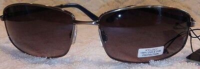 Authentic Retro Kyusu Designer Sunglasses Gunmetal Imported Retail $50 MSRP