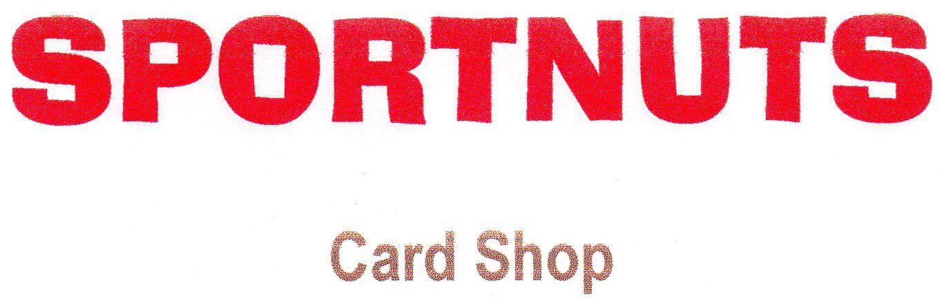 Sportnuts Card Shop and then SOME