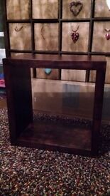 Lovely wooden square unit