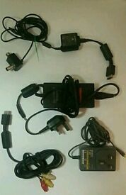 Sony Ps1..ps2..AV cables..power adaptors!!