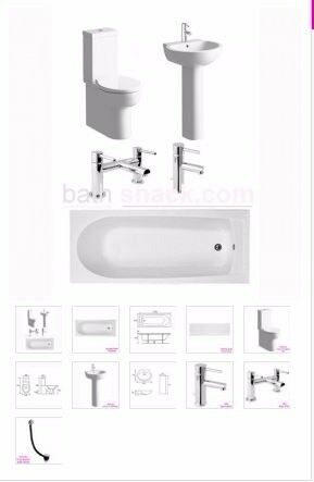 single ended bath package from as low as £453.37