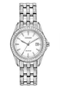 Citizen Women's EW1901-58A Silhouette Crystal Analog Display Jap