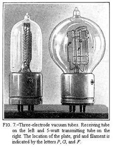 LOOKING FOR OLD VACUUM TUBES/RADIO TV