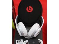 Beats by Dr. Dre Solo Headband Wired Headphones - White