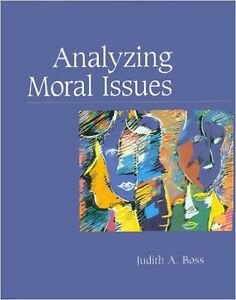 Analyzing Moral Issues , Judith A. Boss West Island Greater Montréal image 1