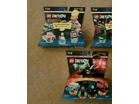 LEGO DIMENSIONS LEVEL AND TEAM PACKS UNOPENED
