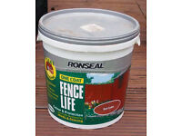Ronseal Fence Life. Red Cedar