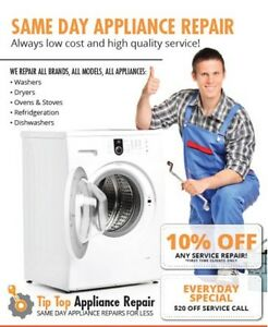 ** APPLIANCE REPAIR AT AFFORDABLE PRICE **