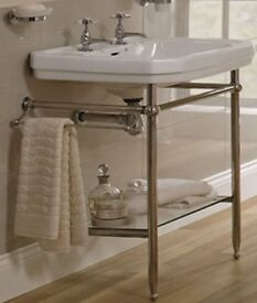 £100 ono Victorian sink and towel rail