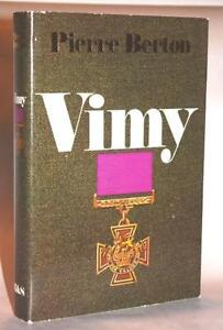 Vimy, by Pierre Berton (Hard Cover Book)
