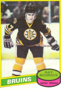 Looking for Ray Bourque rookie card