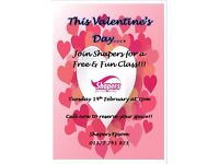 Valentine's Day at Shapers