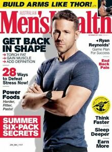 Mens Health Magazines In Mint Condition-Make Me An Offer