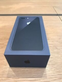 iPhone 8 plus 64gb space grey in box and accessories
