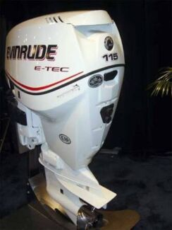 2006 evinrude etec 115hp (low hours) free delivery to perth