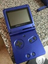 WANTED: Gameboy advance sp - Cobalt (blue) colour Willunga South Morphett Vale Area Preview