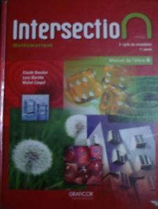 Intersection – Manuel de l'élève B