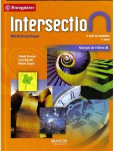 Intersection – Manuel de l'élève A