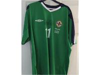 Northern Ireland Match Worn Shirt
