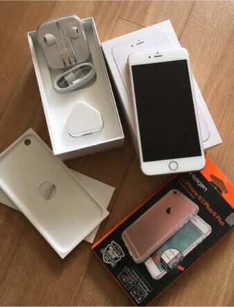 iPhone 6s Plus (16gb) Rose Gold, UNLOCKED, Boxed upin Bedford, BedfordshireGumtree - iPhone 6s Plus (16gb) Rose Gold, Boxed up, Brand New, comes with all the accessories, Hardly used, UNLOCKED, under warranty from apple with receipts...Comes with screen protector and iPhone cover£400 no offers Call or text 07824634630
