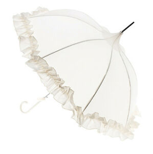 Lisbeth-Dahl-Designer-Ivory-Cream-Frilly-Wedding-Pagoda-Parasol-or-Umbrella