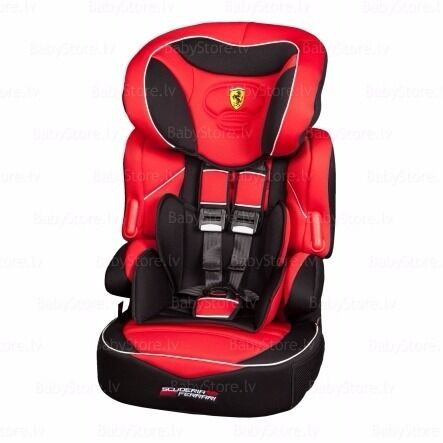 FERRARI RED CAR SEAT FOR KIDS