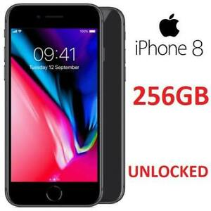 REFURB IPHONE 8 256GB SMARTPHONE MQ7F2LL/A 194884201 UNLOCKED GSM/LTE CELL PHONE SPACE GREY REFURBISHED