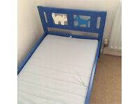 IKEA Junior KRITTER Bed Blue