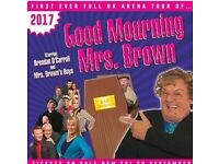 2 x tickets to Mrs Browns Boys tonight - less than half price tickets)