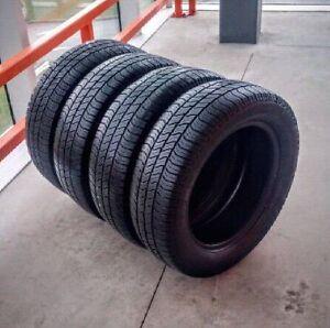 Set of 4 Pirelli 185/65/15 all season tires