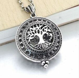 Tree of Life Aromatherapy Essential Oil Diffuser Locket