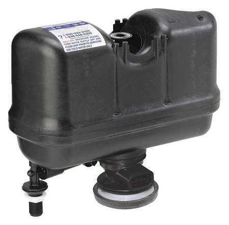 Flushmate M-101526-F3b Tank Trim, Toilet, Plastic, Black