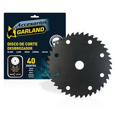 Garland Disco Desbrozadora 30Cc 230*1.3 36 Dientes Arbusto Arbol
