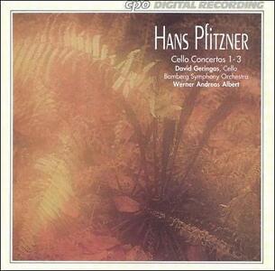 Hans Pfitzner Cello Concertos 1-3 CD, Dec-1993, CPO  - $2.13