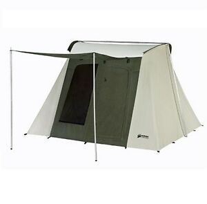 New Kodiak Canvas Tent 6051 Six-Person 10 x 10 Ft. Tent Waterproof C&ing  sc 1 st  eBay & Canvas Camping Tent | eBay