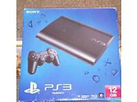 Ps3 boxed with Controller and Games
