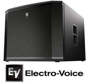"""NEW ELECTROVOICE POWERED SUBWOOFER 18"""" - DJ SPEAKER STAGE MUSIC EQUIPMENT  82138712"""