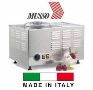 NEW LELLO STAINLESS ICE CREAM MAKER   Lello Musso Pola 5030 Dessert Maker - STAINLESS STEEL KITCHEN APPLIANCE  84616531