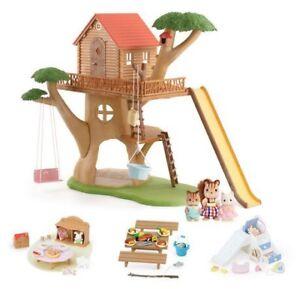 BNIB Calico Critters Adventure Treehouse Gift Set