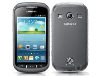 SAMSUNG GALAXY XCOVER 2 UNLOCKED MINT CONDITION COMES WITH WARRANTY & RECEIPT