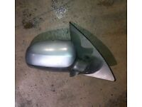 Vauxhall Corsa O/S Wing Mirror IN Grey Colour Code: 163 (2005)