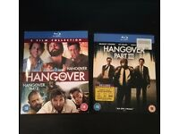 Hangover Part 1 2 and 3 Blu Ray DVD Box Sets (OPEN TO OFFERS)