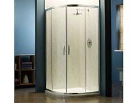 Shower Screen : April Identiti2 AP9582S Double Door Quadrant Enclosure - 1000mm NEW