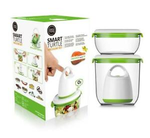FOSA Smart Turtle Food Vacuum Storage Containers - Starter Set