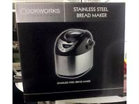cookworks signature ss breadmaker