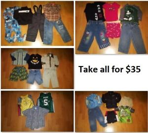 3T Boys Clothing Lot 1 (Take 26 Pieces for $35)