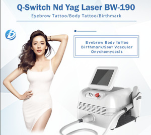 2019 CE Approved Q-Switched Nd Yag Laser Tattoo Removal Machine
