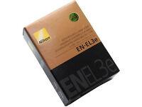 Nikon EN-EL3e Battery For Nikon D50. D70/D70S,D80,D90,D100,D200,D300,D300S, D700; Brand New