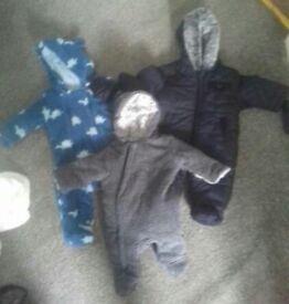 Snow suits/fleece suits